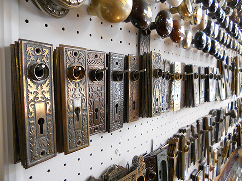 We carry a wide variety of escutcheons. Email us a photo of your pattern and maybe we can match it.