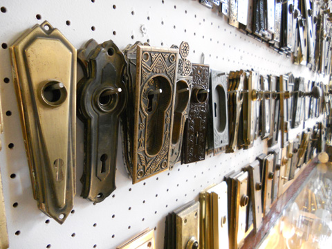 Does your Victorian home have pocket doors? We have hardware for those, too.
